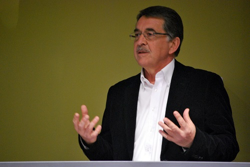 Albert Weideman in 2012 during the joint SAALT/SALALS Conference in Bloemfontein